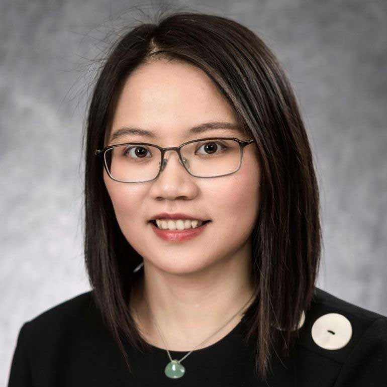 Photo of assistant professor Yayu Feng