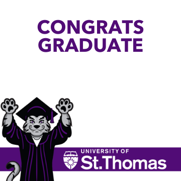 University of St. Thomas profile picture frame