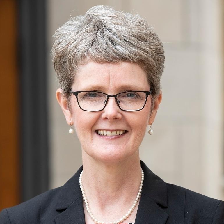 headshot of Dr. Martha Scheckel
