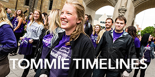 Link to Tommie Timelines - Tommie Timelines