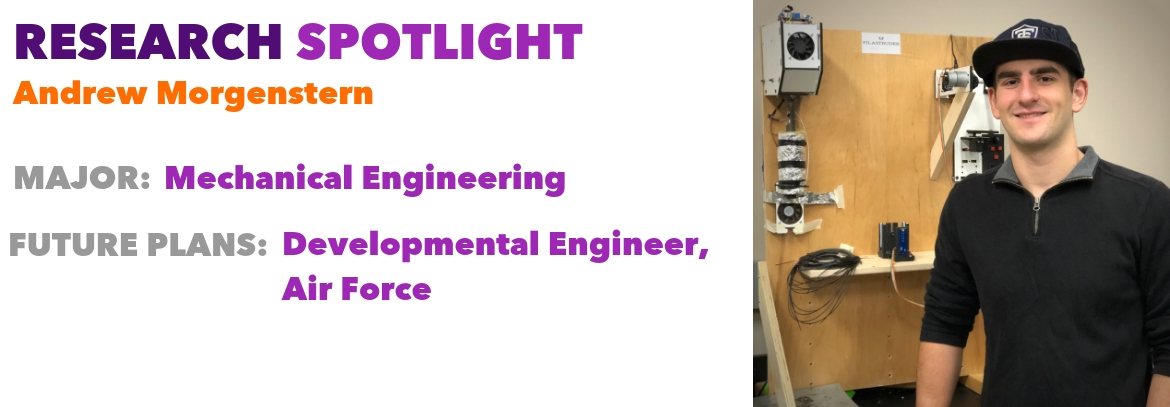 Student Andrew Morgenstern