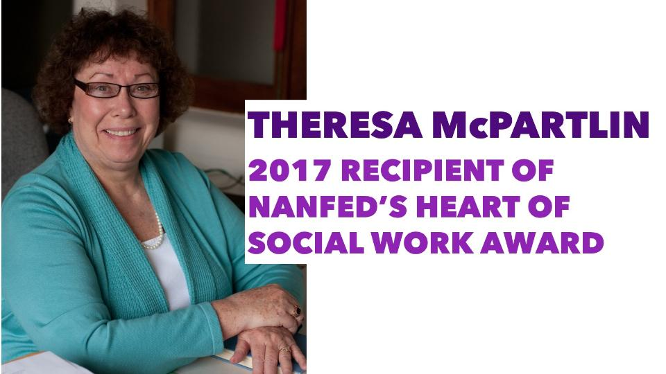 Theresa McPartlin Heart of Social Work Award