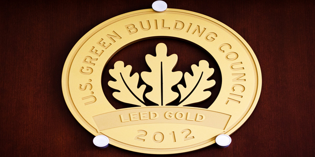 Leed Gold Certification 2012