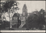 Administration building on campus in 1907