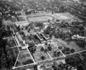 Aerial view of campus 1947