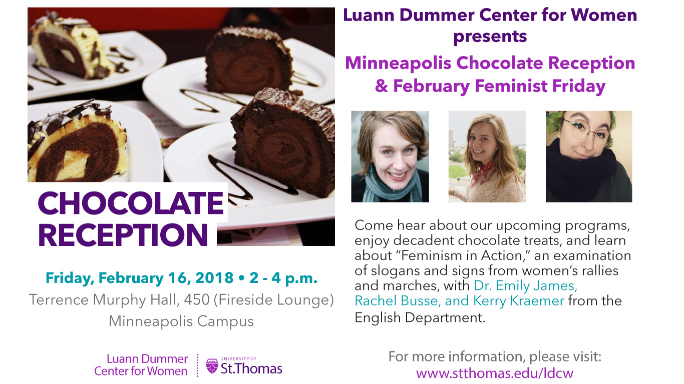 2018 Mpls Chocolate Reception & Feb FemFri
