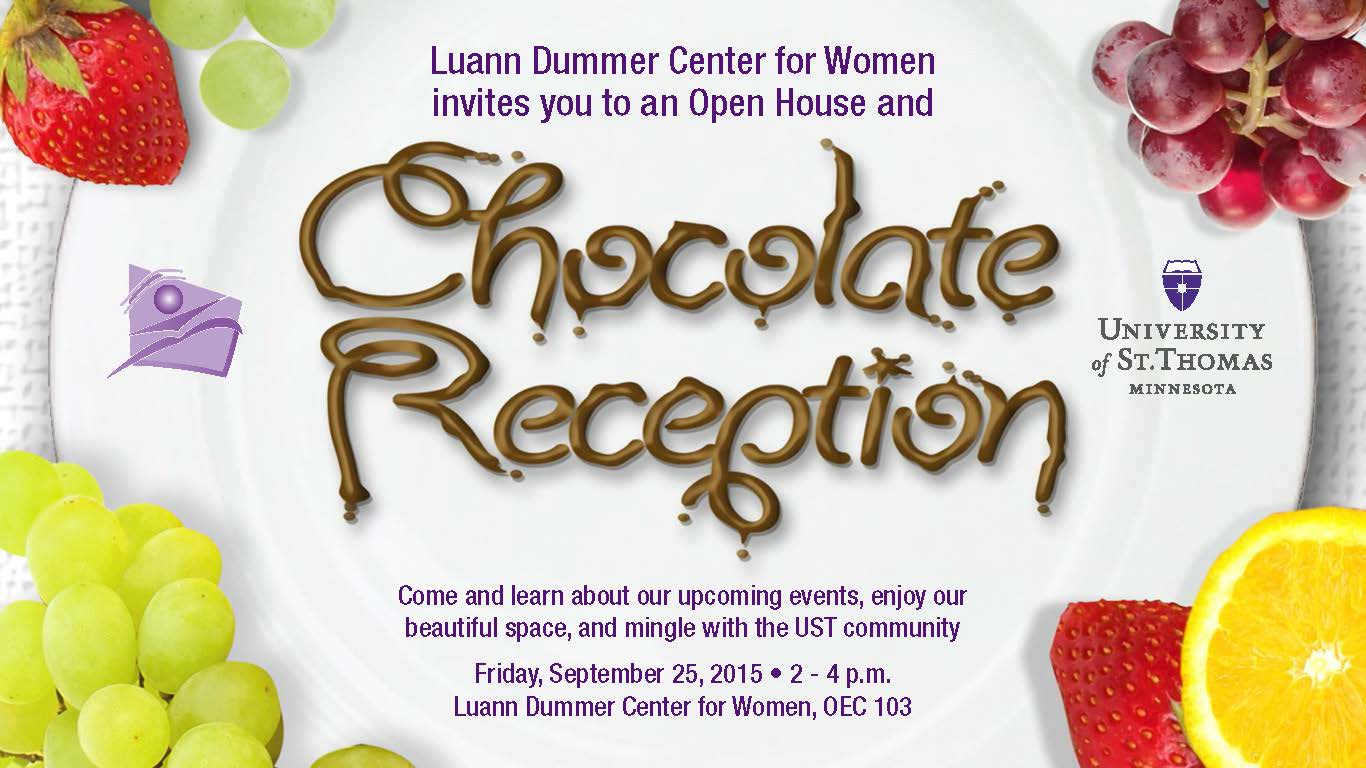 2015 chocolate reception
