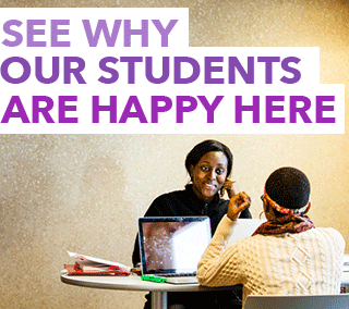 Click here to see why our students are happy here.