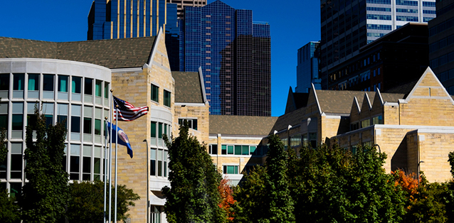 University of St. Thomas downtown Minneapolis Campus Buildings