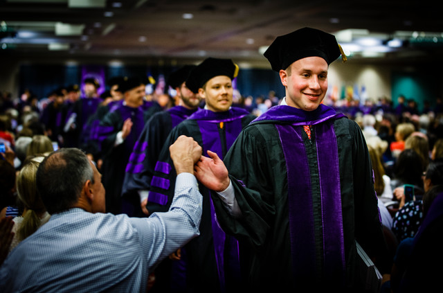 University of St. Thomas School of Law commencement