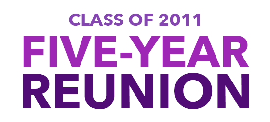 Class of 2011 5-Year Reunion Save the Date