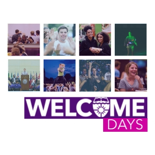 Link to Welcome Days -