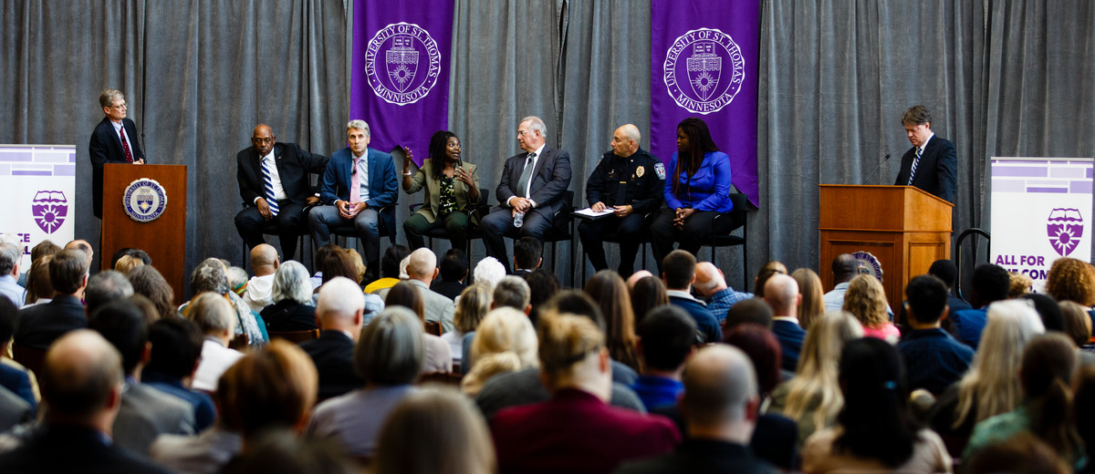 Five Observations from public forum on race, police cohosted by Murphy Institute and Holloran Center at St. Thomas School of Law