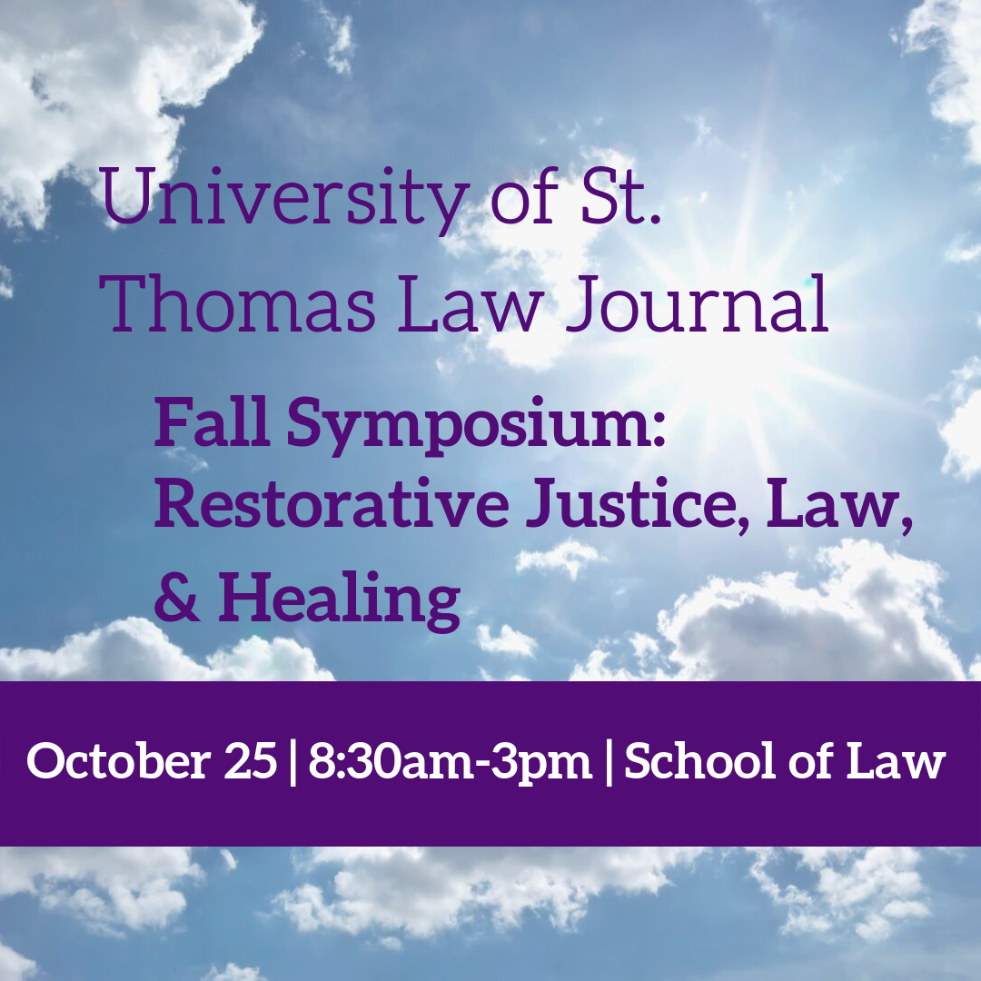2019 Fall Law Journal Symposium