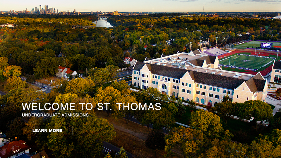 Welcome to St. Thomas International Admissions - learn more